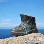 Pilgrim's boot