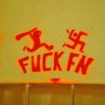 Anti-Nazi sign